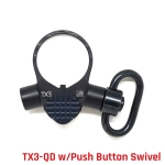 TX3-QD Tactical Takedown Tool (w/Push Button Swivel Loop)