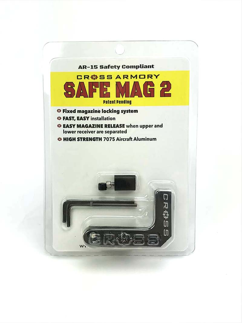 Cross Armory Safe Mag 2 All Ar 15 M4 Mag Magnet